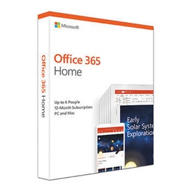 Microsoft Office 365 Home EuroZone English Medialess Box