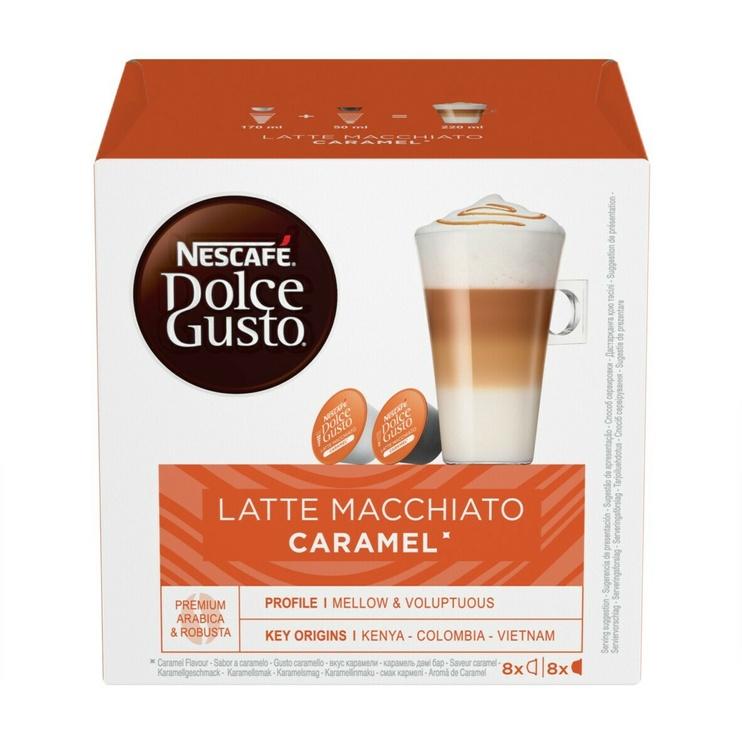 Nescafe Dolce Gusto Latte Macchiato Caramel 16 Capsules