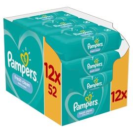 Niisked salvrätikud Pampers Fresh Clean, 624 tk