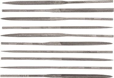 Topex 06A020 Needle Files 10pcs