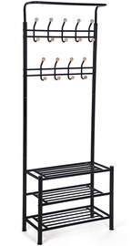 Songmics Clothes Rack Black 68.8x35.2x187cm