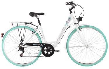 """Jalgratas Kenzel Corso White Green, 17.5"""", 28"""""""