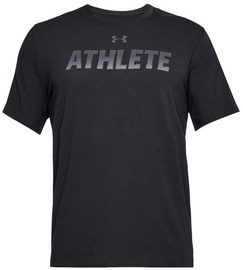 Under Armour T-Shirt Athlete 1305661-001 Black XS