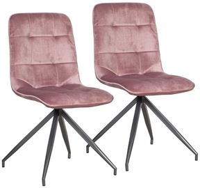 Стул для столовой Home4you Rimini Pink, 2 шт.