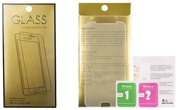 Gold Tempered Glass Screen Protector For Apple iPhone 7/8