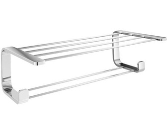 Gedy Outline Double Shelf For Towels Chrome