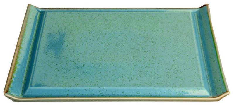 Porland Seasons Steak Plate 32.4x25.9cm Turquoise