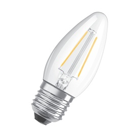 Led lamp Osram B40, 4W, E27, 827 470lm