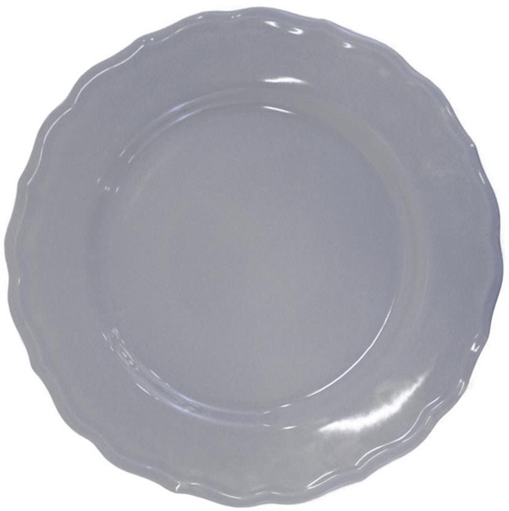 Bradley Julia Ceramic Plate 28cm Gray 12pcs