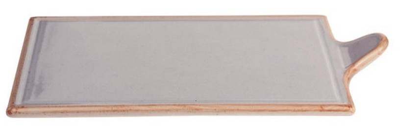 Porland Seasons Cheese Serving Plate 30x18.1cm Grey