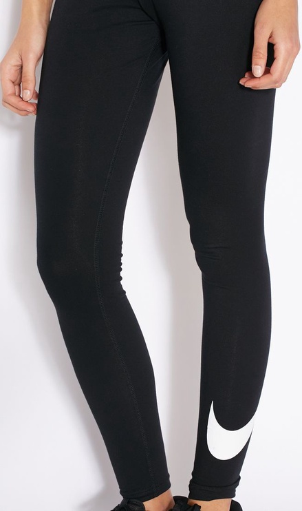 Nike Club Legging Logo 815997 010 Black L