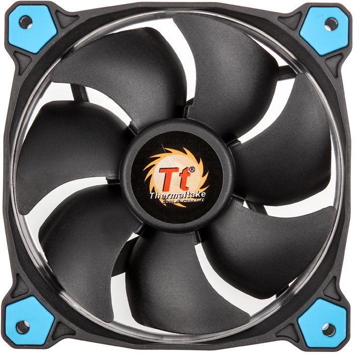 Thermaltake Riing 12 Blue High Static Pressure LED Fan Set of 3