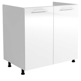 Halmar Kitchen Bottom Cabinet Under The Sink Vento DK 80/82 White