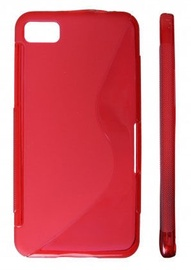 KLT Back Case S-Line Sony Xperia ION Silicone/Plastic Red