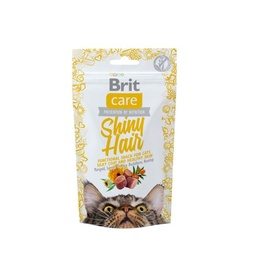 Brit Care Shiny Hair Snack For Cats 50g