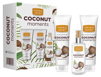 Revlon Natural Honey Coconut Moments Shower Gel 200ml + 200ml Body Lotion + 100ml Body Mist