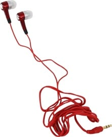 Freestyle Universal In-Ear Stereo Earphones Red