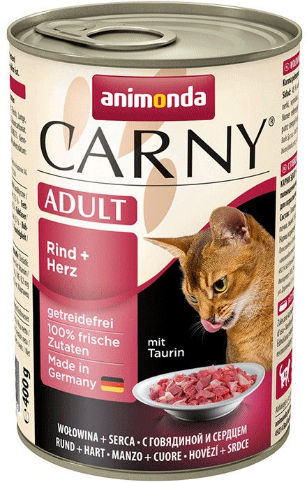 Animonda Carny Adult Beef & Heart 400g