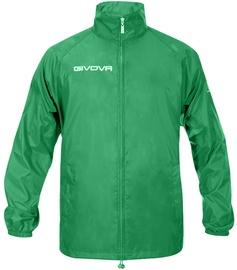 Givova Basico Rain Jacket Green 2XS