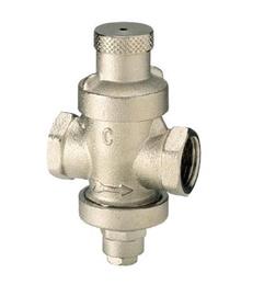 TDM Brass 1191 Pressure Regulator 1/2''
