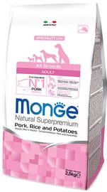 Monge Speciality Line Adult Pork and Rice 2.5kg