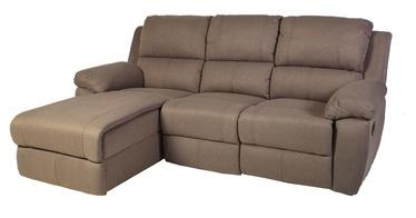 Угловой диван Home4you Berkley Beige, левый, 216 x 165 x 100 см
