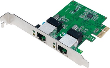 LogiLink 2-Port Gigabit LAN PCI-Express Card