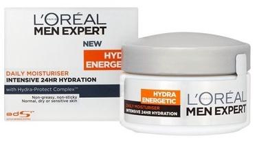 Näokreem L´Oreal Paris Men Expert Hydra Energetic Daily Moisturiser, 50 ml