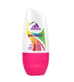 Adidas Get Ready! 50ml Deo Rollon Woman