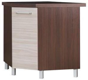 Bodzio Loara Bottom Corner Cabinet Latte/Nut