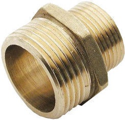 Sobime Pipe Adapter Nipple Brass 1 1/2""