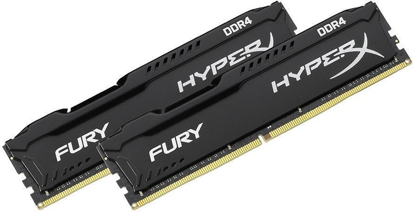 Kingston HyperX Fury Black 32GB 2666MHz CL16 DDR4 KIT OF 2 HX426C16FBK2
