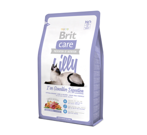 Kuivtoit kassidele Brit Care Cat Lilly I ve Sensitive Digestion, 2 kg