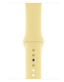 Apple 44mm Lemon Cream Sport Band S/M & M/L