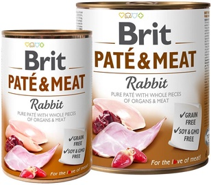 Brit Pate & Meat With Rabbit 800g