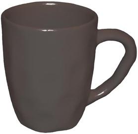 Bradley Ceramic Cup Organic 11cm Brown