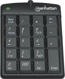 Manhattan Numeric Keypad Black