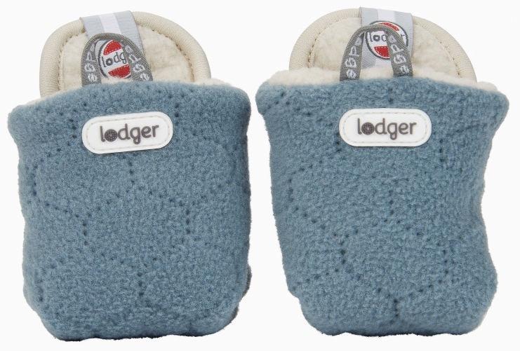 Lodger Fleece Booties BotAnimal Ocean 12-18m