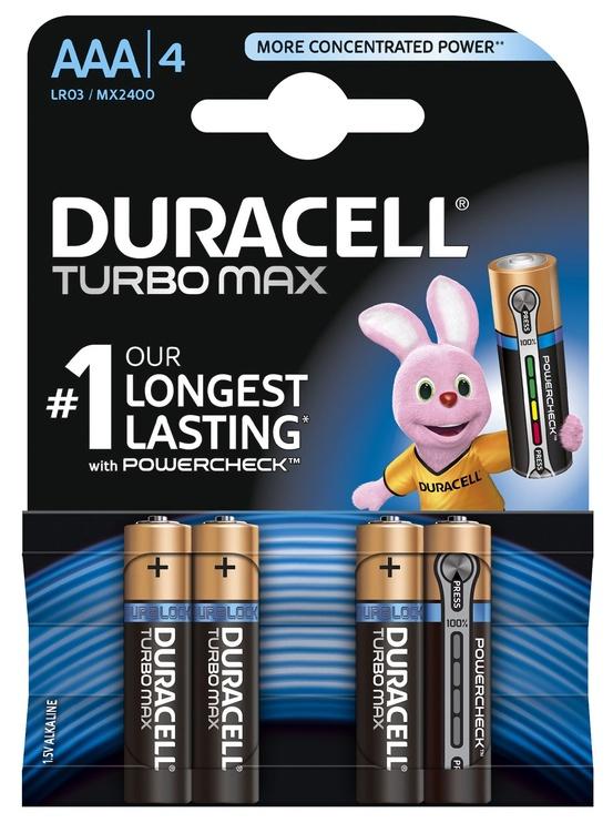Duracell Alkaline Batteries AAA 1.5V 4pcs