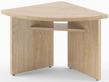 Skyland Born B 306 Desk Extension Right Oak Devon