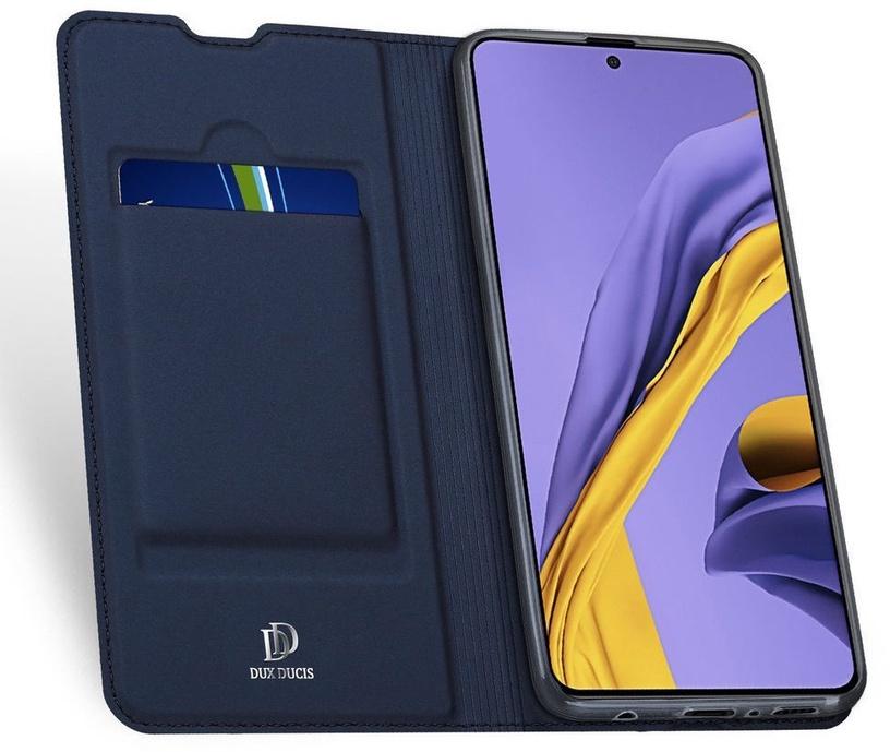 Dux Ducis Skin Pro Bookcase For Samsung Galaxy A51 Blue