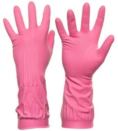 DD Rubber Gloves Pink L