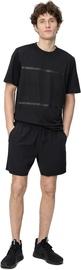 Kergest kangast stretch lühikesed püksid Audimas, must, XL