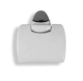 Karo Plast Toilet Paper Holder Claudia 12808 Grey