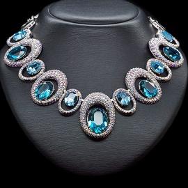 Diamond Sky Necklace Safi's Charm With Swarovski Crystals