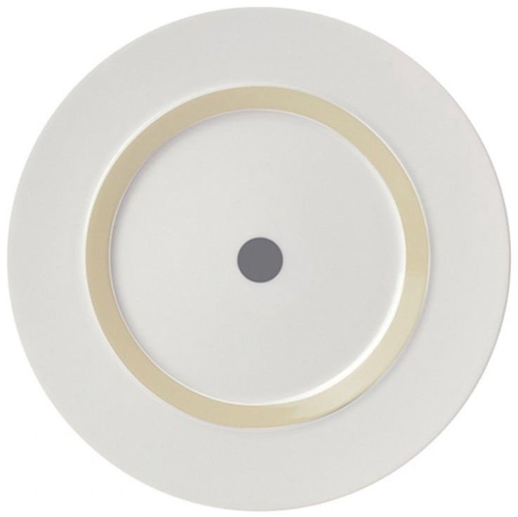 "ViceVersa Dessert Plate ""The Dot"" 23cm Grey"