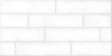 Keraamilised dekoratiivsed seinaplaadid Brick White, 60 x 30 cm