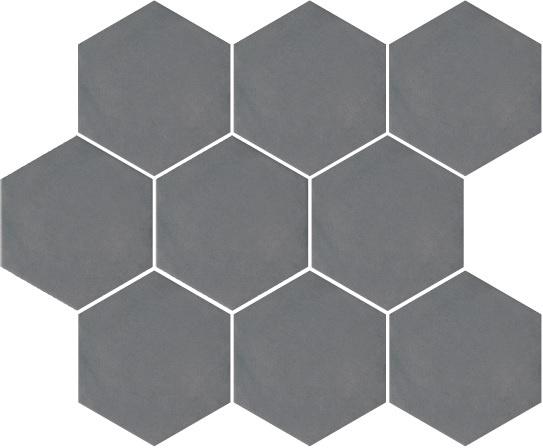Kerama Marazzi Turenne Tiles SG1002N 120x104mm Grey