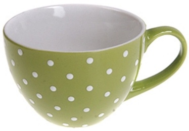 Banquet Jumbo Dots Green Mug 400ml