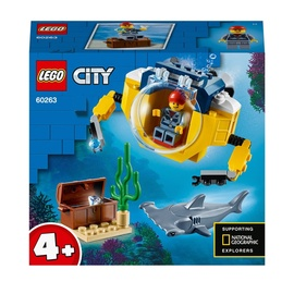 Konstruktor LEGO® City 60263 Ookeani miniallveelaev